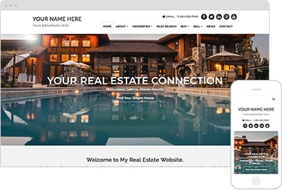 Standard Real Estate Website Theme